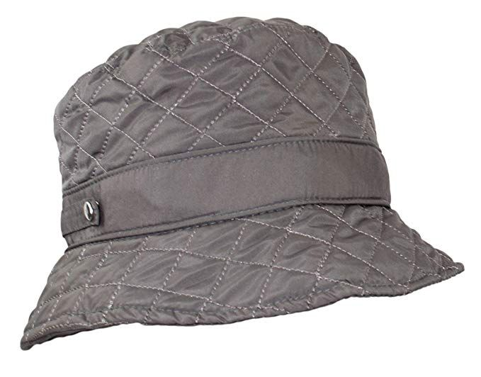 Twist-and-Fold Rain Hat 15 inch diameter brim Unisex