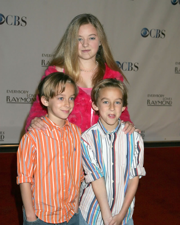 Madylin Sweeten, Sawyer & Sullivan Sweeten-Everybody Loves Raymond series wrap party (2005)- Their mom, Elizabeth, used to babysit my kids! They have all grown up!