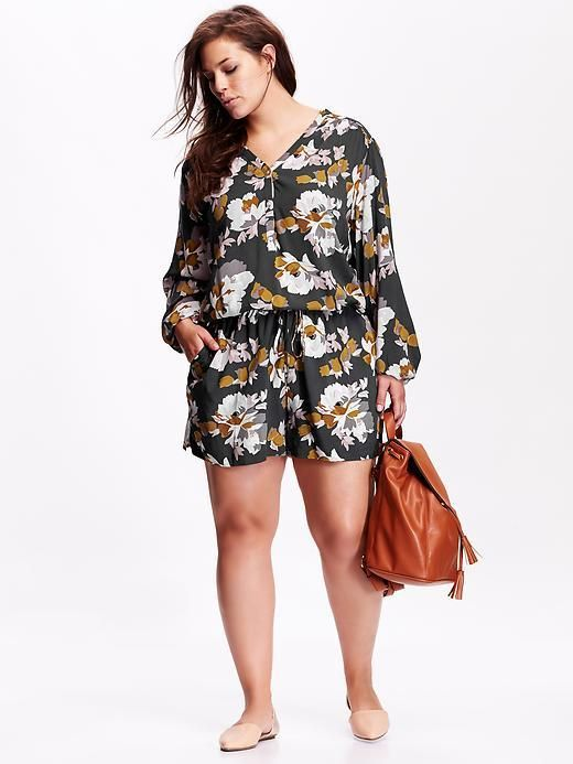 Dear stylist: I'd love to find a romper similar to this one! I love the pattern and cut. XL or XXL