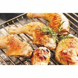 Hickory-Barbecued Chicken