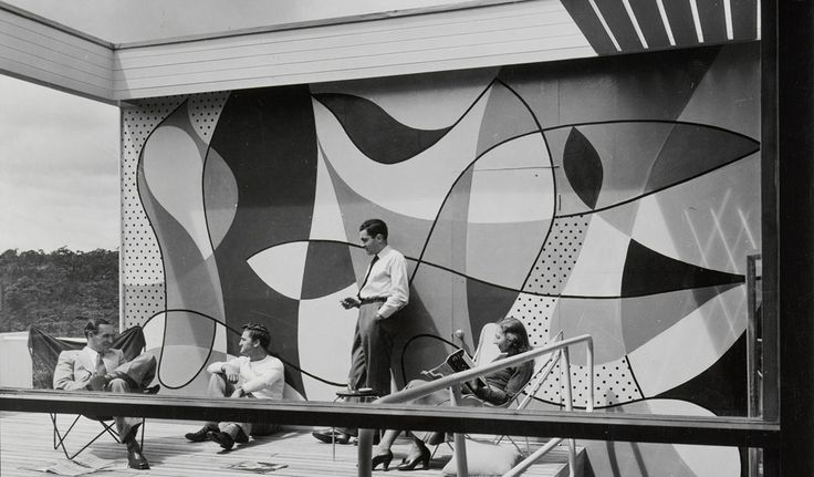 Rose Seidler House (detail), photographer unknown, c1951.