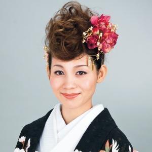 和装ウェディングに似合う髪形・ヘアスタイル画像集