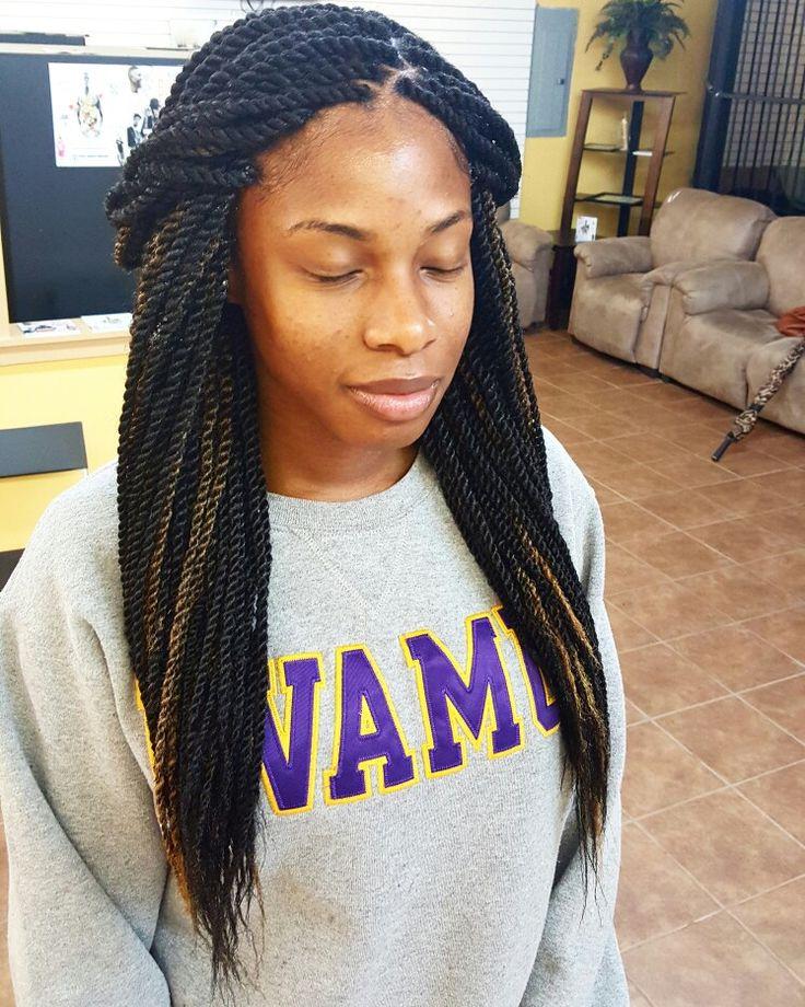 Marley Twists small size waist length