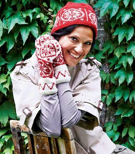 Traditionsrigt vinterstrik: Hue og vanter fra Hjemmet