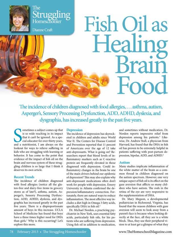276 best images about brain injury ptsd disability on for Fish oil for cooking