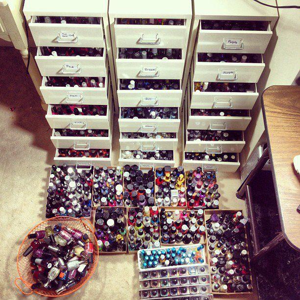 Nail Art Storage Ideas: 1000+ Images About Nail Polish Organizer On Pinterest