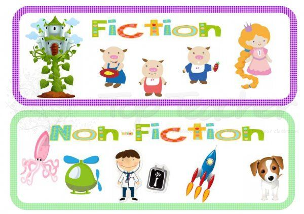Book genre labels | Top Teacher - Innovative and creative early childhood curriculum resources for your classroom