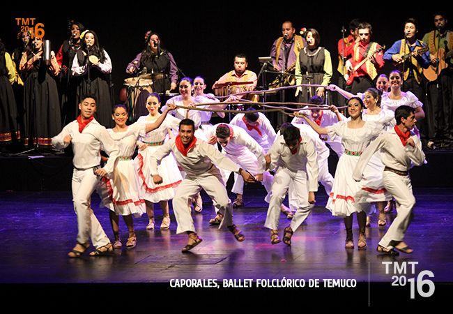 Con gran profesionalismo el Ballet Folclórico de Temuco deslumbró al público Temuquense en su reencuentro
