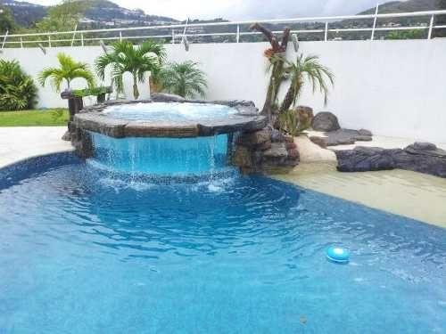 construccion diseno y mantenimiento de piscinas y cascadas On construccion de cascadas para piscinas
