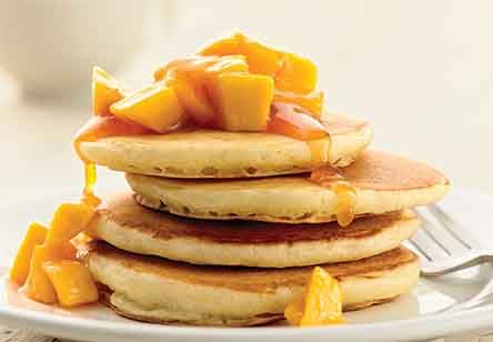 Self-Rising Light and Fluffy Pancakes
