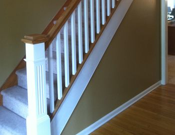 Best Banister Design But All Wood Ideas 4 The New House 400 x 300