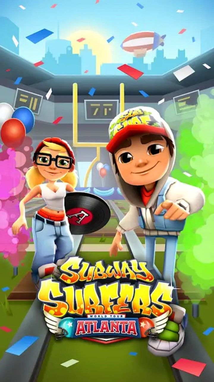 New Subway Surfers Atlanta Subway Surfers Subway Surfers Game Subway Surfers Download