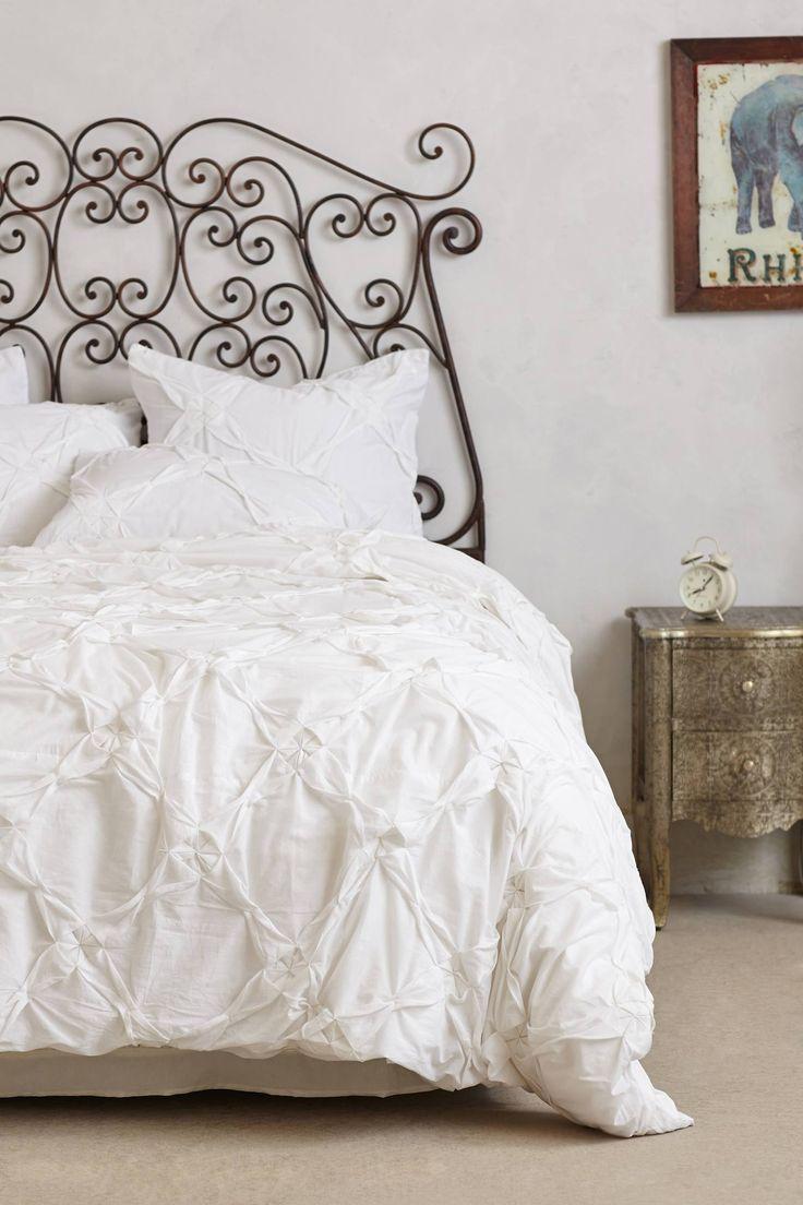 Anthropologie white bedroom - Climbing Trellis Duvet Anthropologie Com
