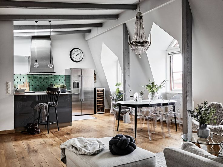 Sophisticated Scandinavian penthouse
