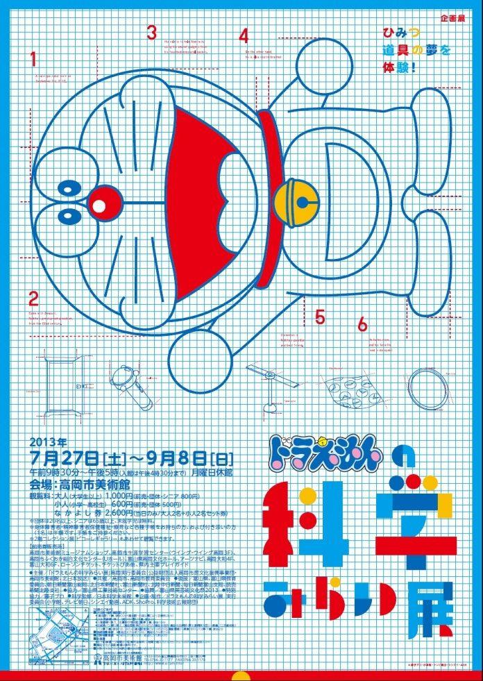 「ドラえもんの科学みらい展」ポスター