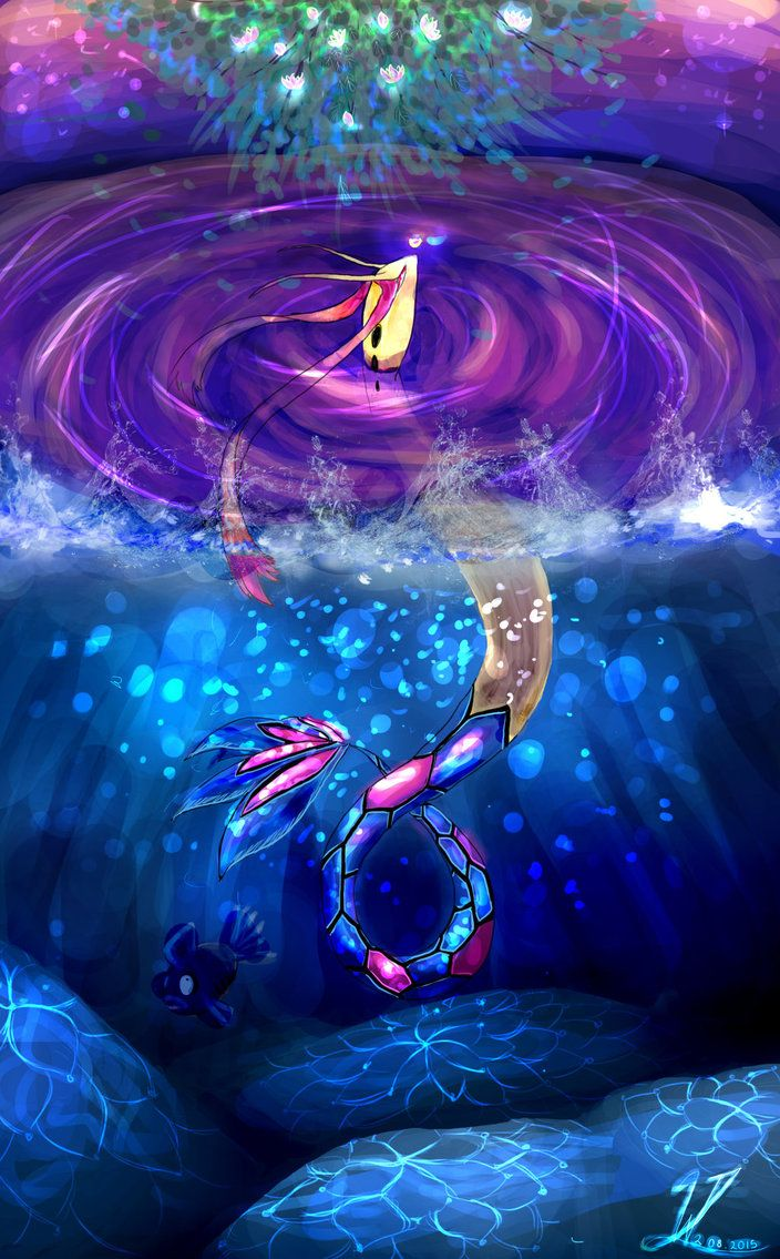 Milotic by Pokemonpassage on DeviantArt