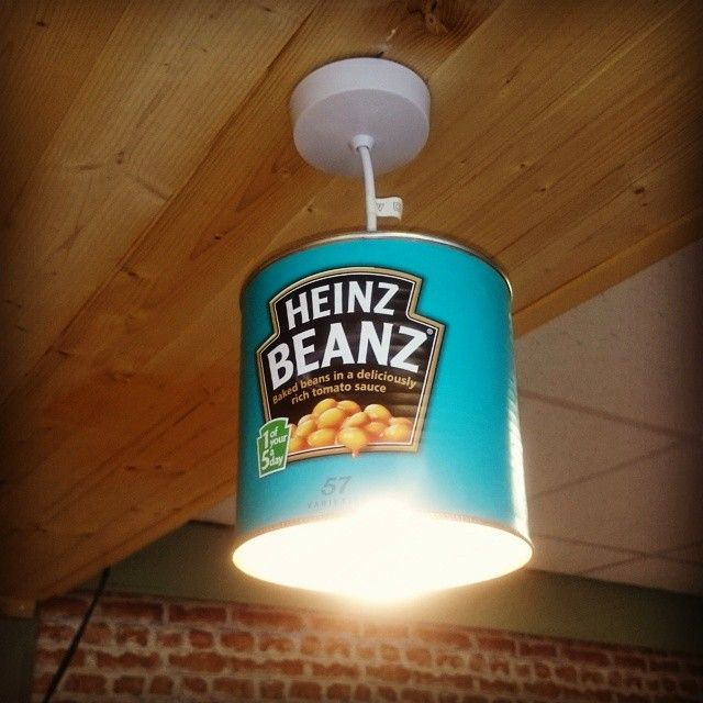 """And God said, """"let there be light!"""" ;) #bakedbeans #iLoveHeinz Photo by @urbanprowler"""