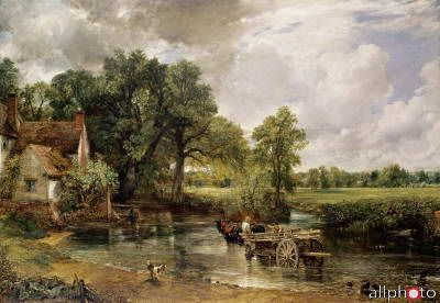 Constable, John: Vůz na seno