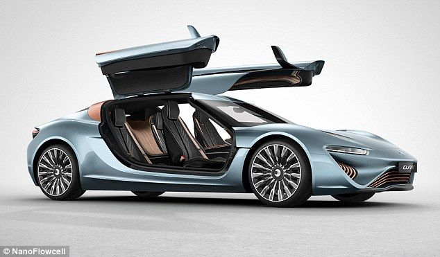Sports cars may not have the best reputation for being environmentally-friendly.But this sleek machine has been designed to reach an impressive 217.5 mph (350 km/h) ¿ using nothing but saltwater