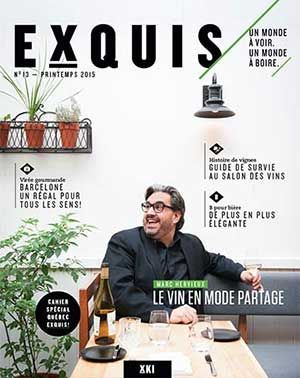 La générosité de Marc Hervieux. Rencontre au restaurant Lauréa.