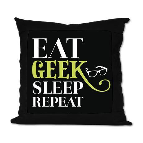 Geek Suede Pillow #cafepress..for my self proclaimed Geek Katie!!