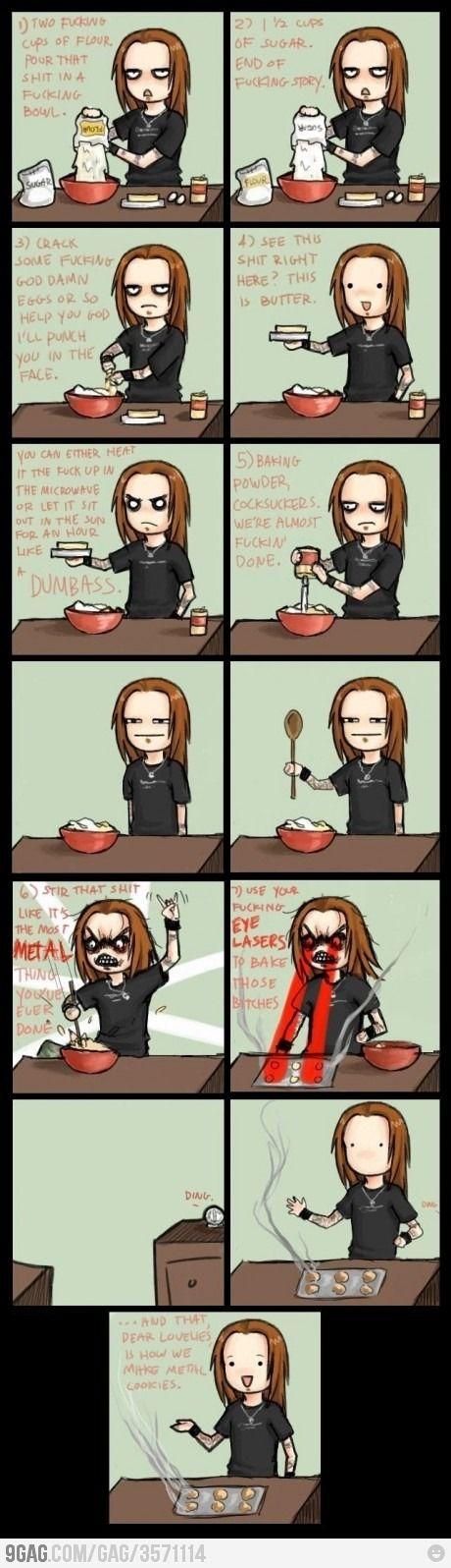 Favorite recipe: Metal cookies