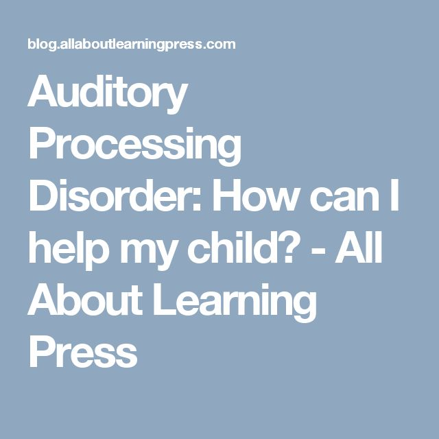 help for auditory processing pdf