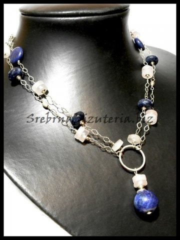Lapis necklace for friend