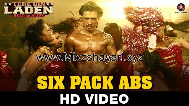 Six Pack Abs - Tere Bin Laden : Dead Or Alive - Ali Zafar - Full HD Video Song & Lyrics - MixzShayari