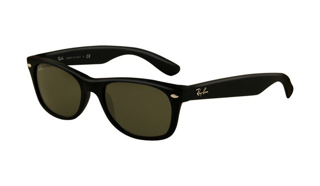 Cheap RayBan Outlet Sale RB2132 Wayfarer Black Frame Crystal Lenses Sunglasses