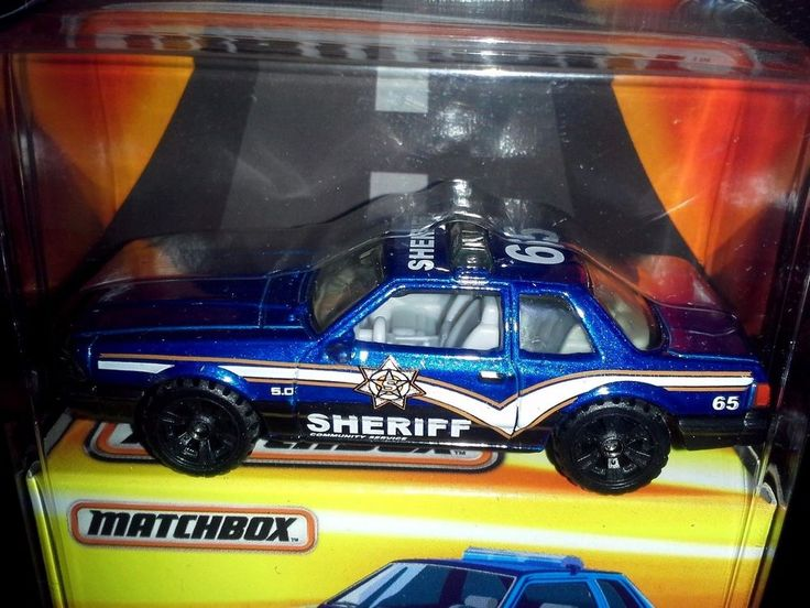 MATCHBOX 2016 BEST OF SERIES 1 PREMIUM COLLECTION '93 FORD MUSTANG LX SSP (BLUE) #MATCHBOX #Ford