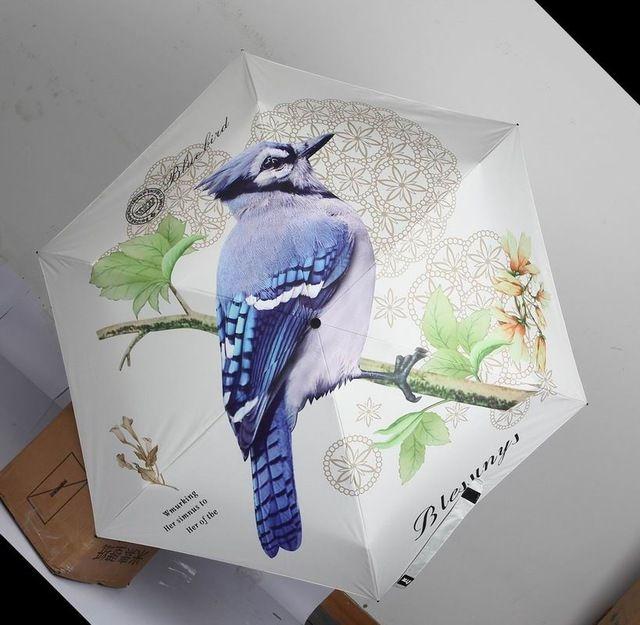 Детский зонт женский 5 раза зонтик Китайский милый Cat Dog УФ ТТК мультфильм небольшой карман солнца Sun Mini Зонты Дождь Женские купить на AliExpress