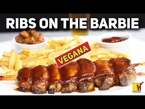 RIBS ON THE BARBIE VEGANA| A COSTELA DO OUTBACK | VIEWGANAS - YouTube