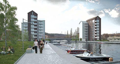 Söderhamn || Centrum Utveckling || 2015-2023 - SkyscraperCity