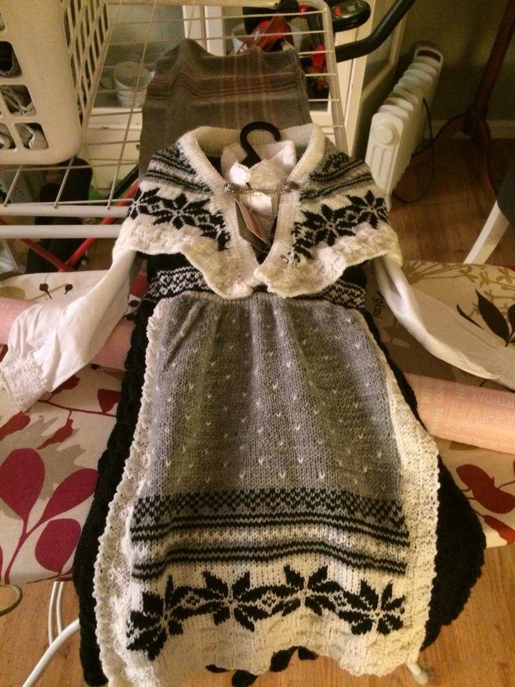 Jentebunsd med sjal