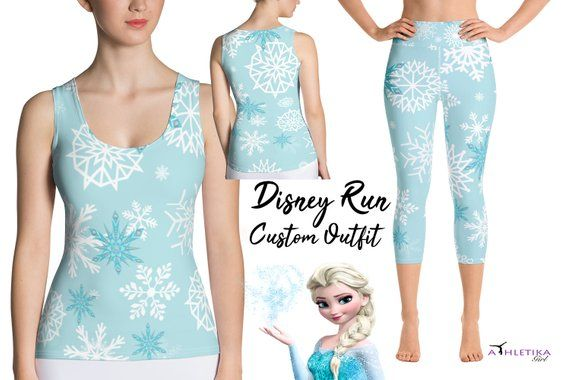 Frozen Girls Ice Queen Leggings
