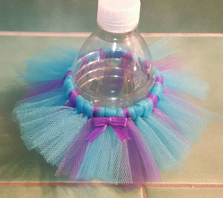 Bottle Tutu Mermaid Party Favor Princess Birthday Decoration Ballerina  Turquoise Purple Baby Shower Bridal Wedding Sweet