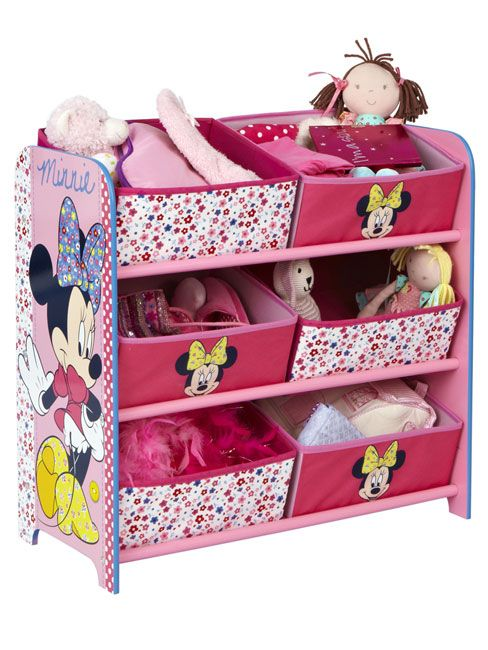 minnie mouse bed rooms home football mickey minnie mouse minnie mouse 6 bin storage