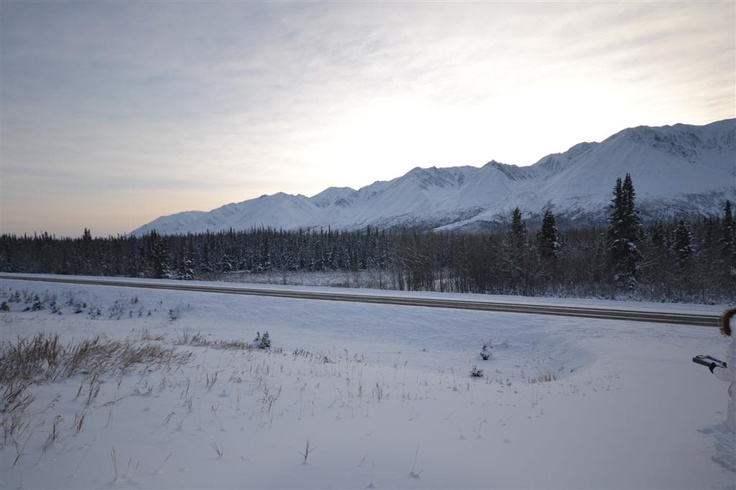 On our way to listing a lot outside of Haines Junction - you can see Sherryl with her note pad on the bottom right hand side - wow was it a cold one! http://www.domerealty.ca/
