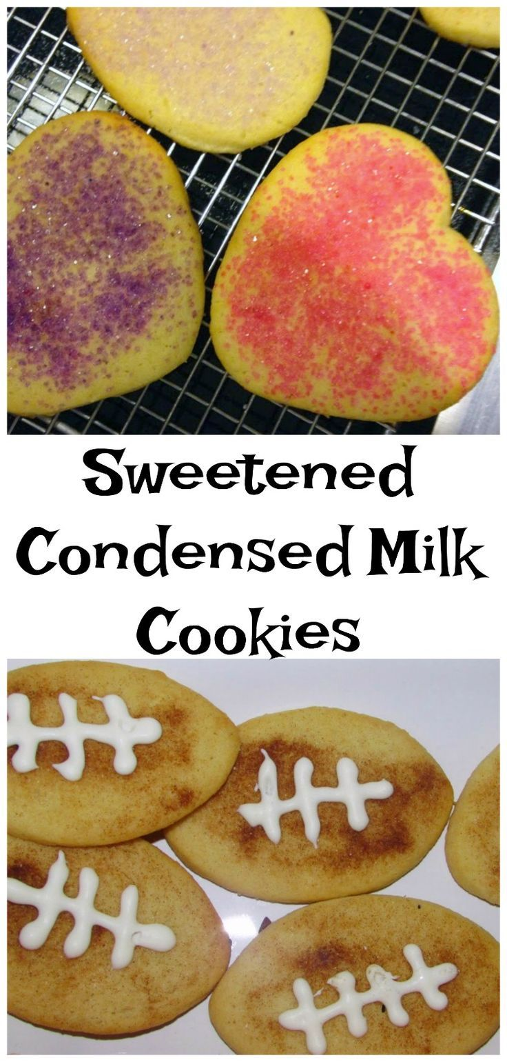 These cookies are sweet, soft and simple. The secret ingredient is sweetened condensed milk. You are going to love them!