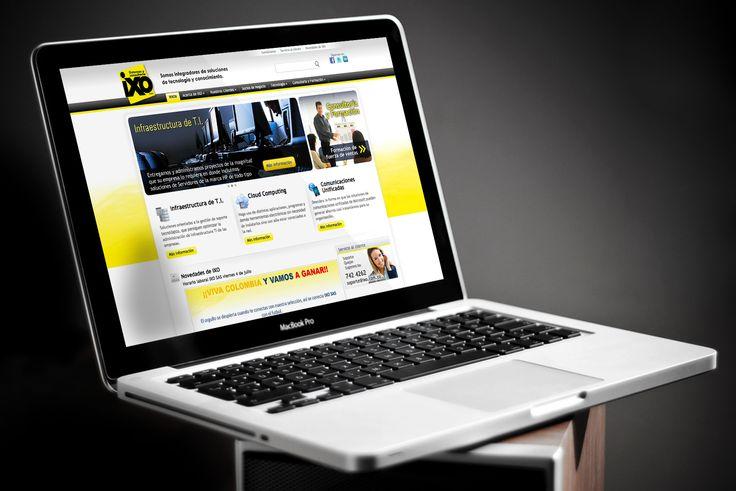 Diseño de Sitio Web IXO implementado en Wordpress montado sobre un servidor Windows Server 2008, con IIS, MySQL y PHP