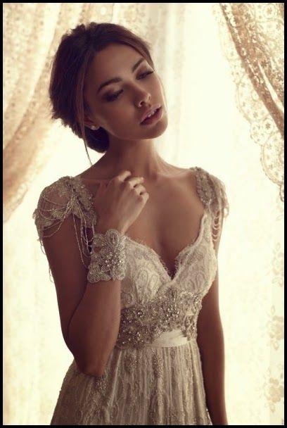 Modest Wedding Dresses with Stylish Lace Sleeves