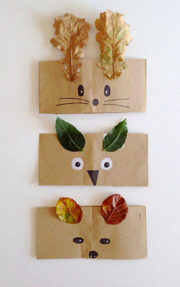 mommo design: 6 FALL LEAVES DIY PROJECTS - Leaf crowns and masks