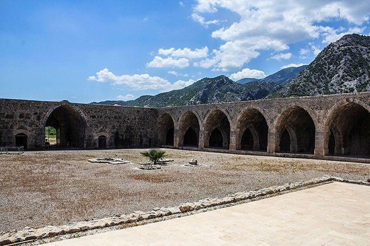 https://flic.kr/p/sNeHMD   a place to rest   KIRKGOZ HAN   Kırkgöz Han is located in Pınarbaşı area of Döşemealtı district of Antalya metropolitan city. The name of the caravanserai comes from the old name of Döşemealtı district, i.e. Kırkgöz. The name Kırkgöz (Forty Eyes) refers to the numerous water springs in the region.   Built 800 years ago by Gıyaseddin Keyhüsrev Bin Keykubat II during Seljuk Empire, Kırkgöz Han was one of the last stops on the Silk Road on the way to Antalya port…