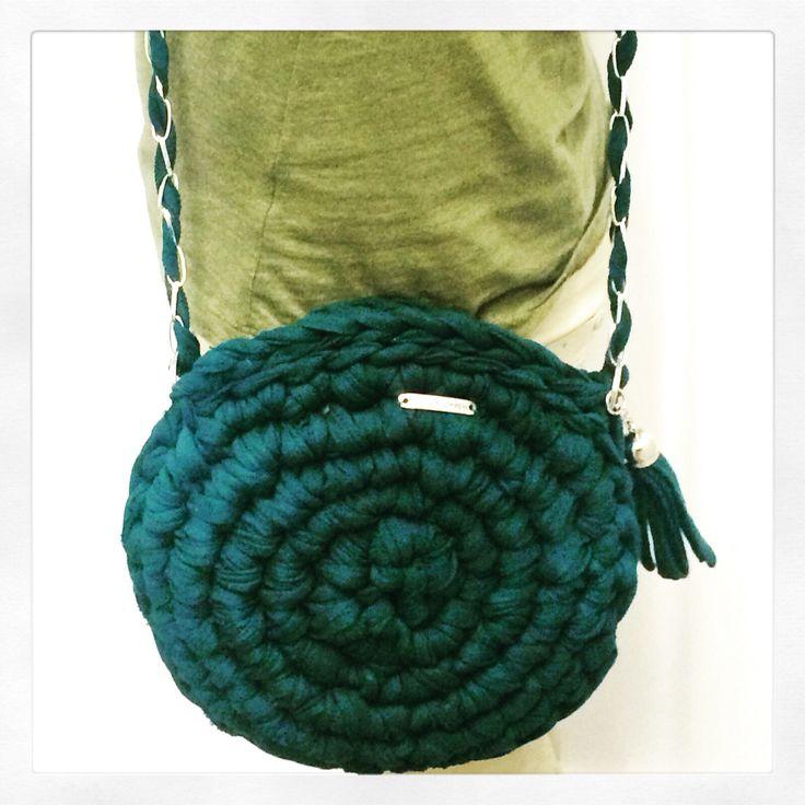 #trapilho #totora #trapillo #hechoamano #tejer #bolsotrapillo #bolso #handmade #ganchillo #crochet #amano #unico #tshirtyarn