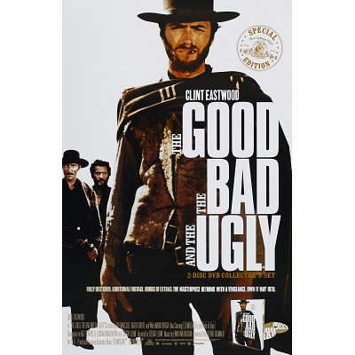The Good, The Bad and The Ugly - Clint Eastwood Movie Poster