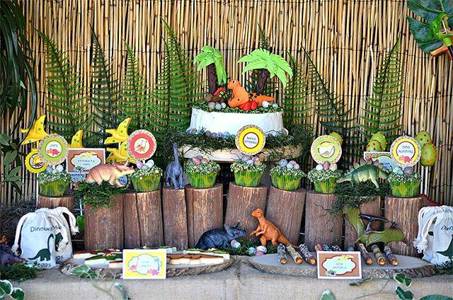 Fiesta de cumplea os de dinosaurios inspiraci n e ideas - Ideas de cumpleanos para ninos ...