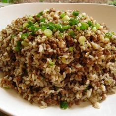 Cajun Dirty Rice Dressing Recipe | Just A Pinch Recipes
