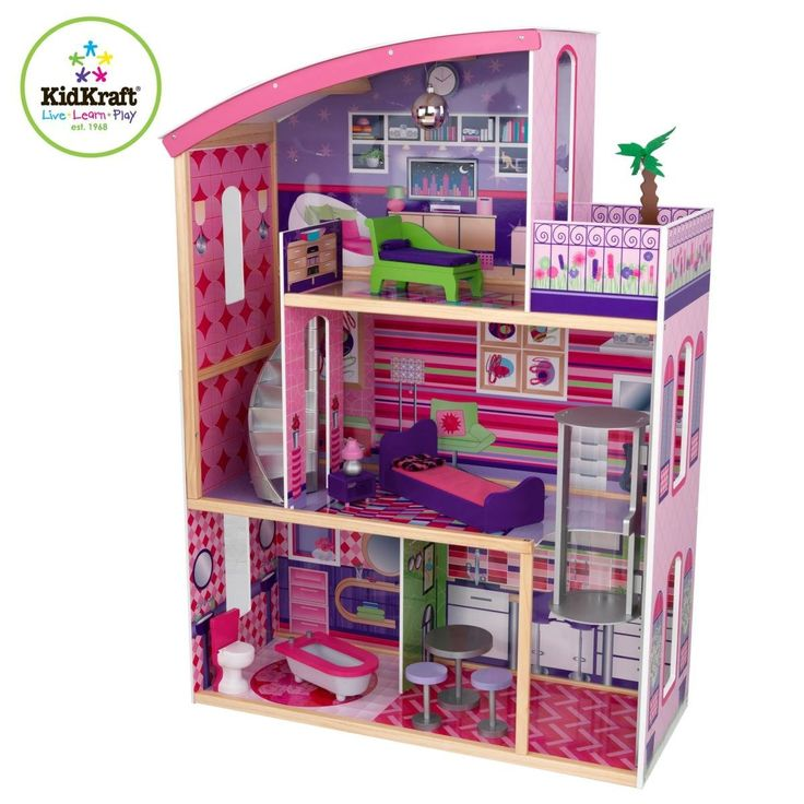 Large Wooden Barbie doll houses