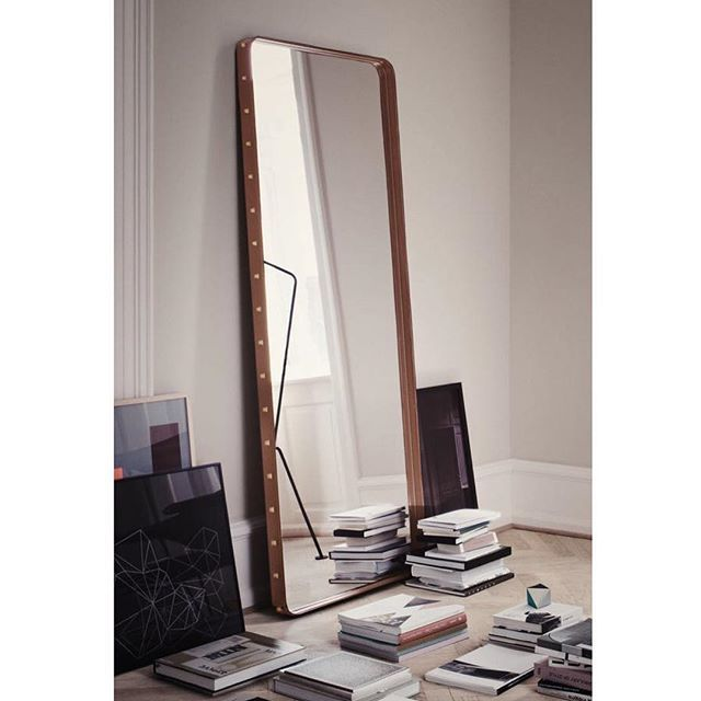 The floor mirror from The Adnet collection for GUBI in 2011.jpg